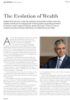 Bespoke Magazine - The Evolution of Wealth - Mohammad Kamal Syed