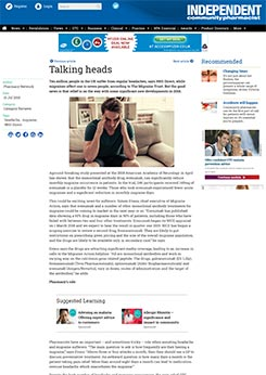 'Talking heads' by Dawn Gay - Independent Pharmacist